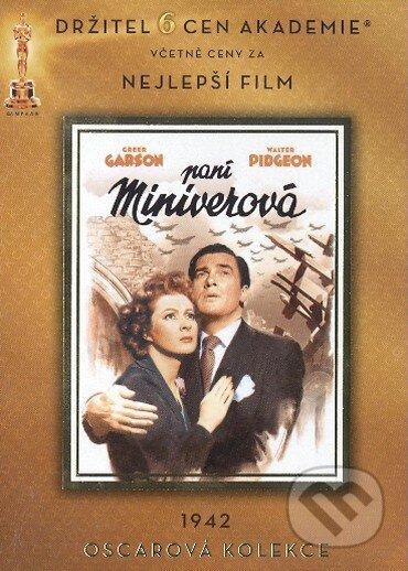 Pani Miniverová DVD