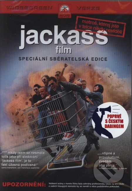 Jackass: film DVD