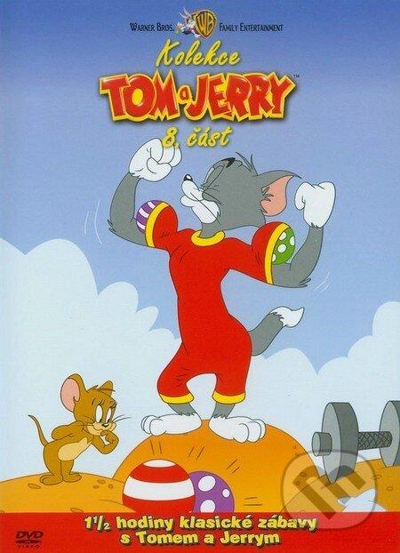 Tom a Jerry - 8. časť (kolekcia) DVD