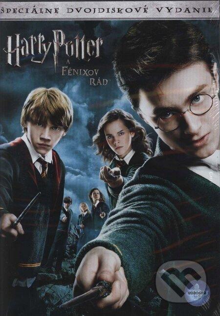 Harry Potter a Fénixov rád (slovenský dabing) DVD