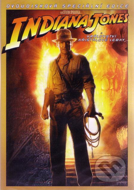 Indiana Jones a Kráľovstvo krištáľovej lebky (2 DVD) DVD