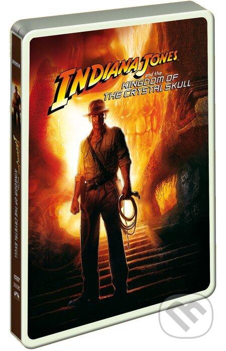 Indiana Jones a Kráľovstvo krištáľovej lebky (2 DVD) - Steelbook DVD