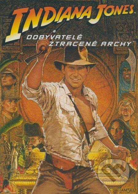 Indiana Jones a dobyvatelia stratenej archy DVD