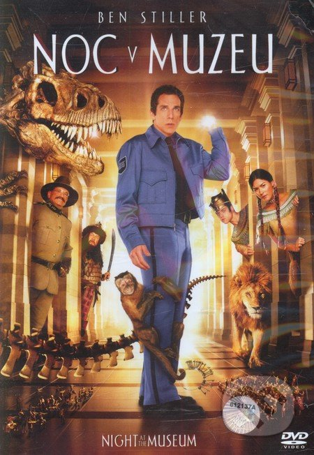 Noc v múzeu DVD