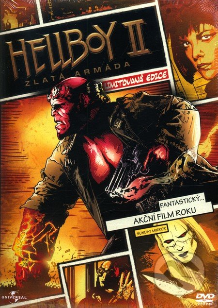 Hellboy 2: Zlatá armáda DVD