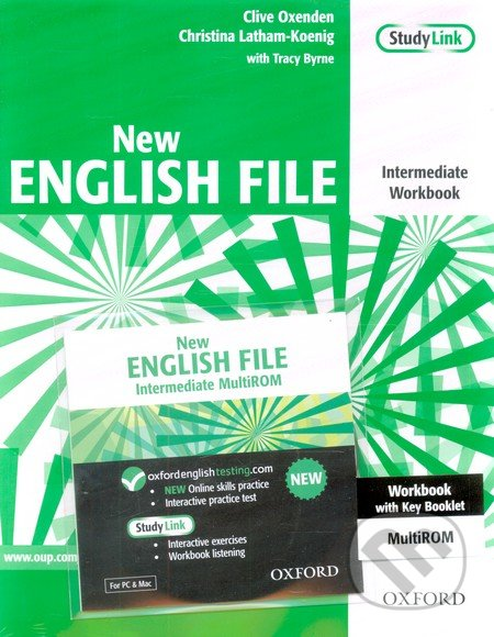 New English File - Intermediate - Workbook + MultiROM with Key -