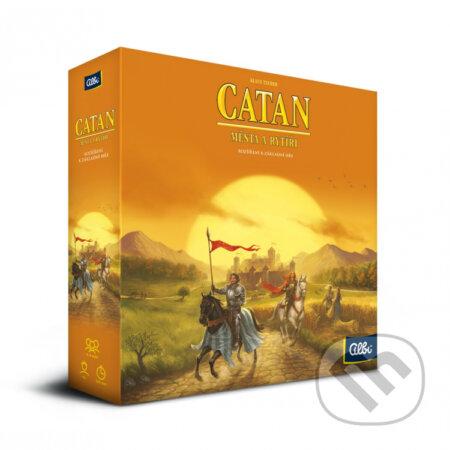 Osadníci z Katanu - Mestá a rytieri (plastové figúrky) (rozšírenie) - Klaus Teuber