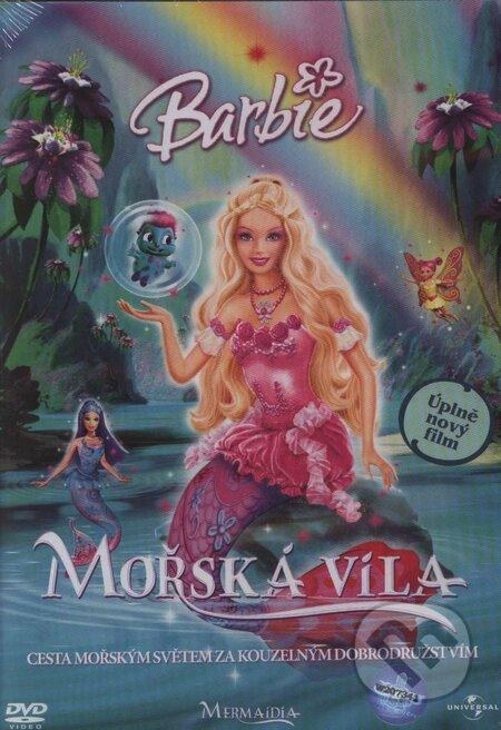 Barbie: Morská víla DVD