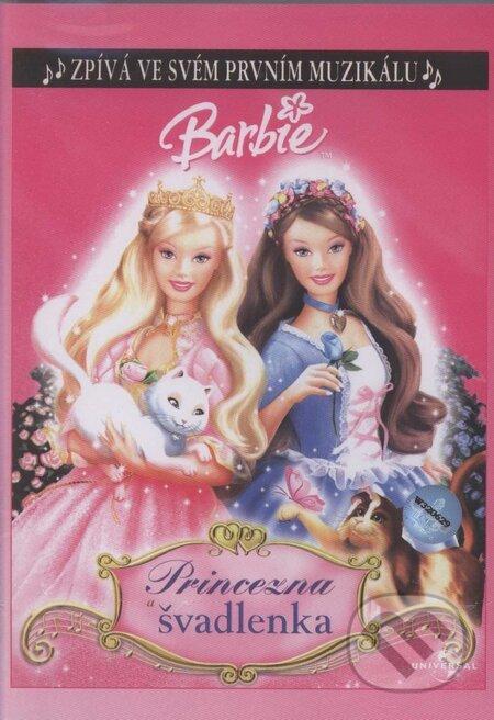 Barbie princezná a krajčírka DVD