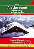 Alpské země 1:400 000 -