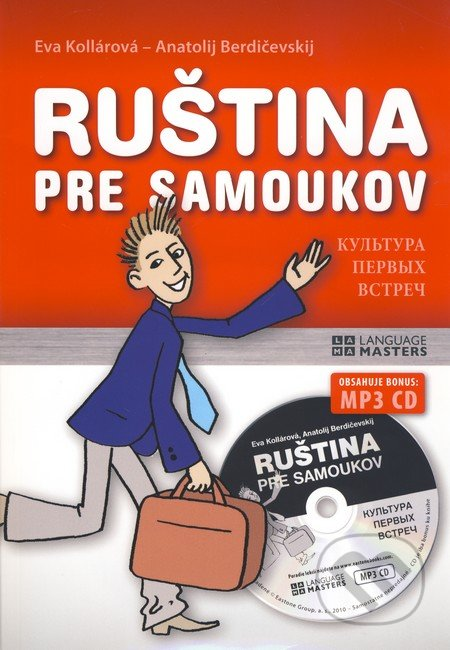 Ruština pre samoukov + CD MP3 - Eva Kollárová, Anatolij Berdičevskij