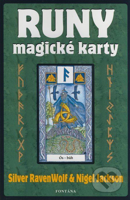 Runy - magické karty (Kniha + karty) - Silver RavenWolf, Nigel Jackson