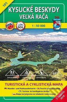 Kysucké Beskydy - Veľká Rača - turistická mapa č. 101 - Kolektív autorov
