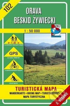 Orava - Beskid Zywiecki - turistická mapa č. 102 - Kolektív autorov