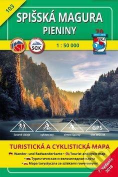 Spišská Magura - Pieniny - turistická mapa č. 103 - Kolektív autorov