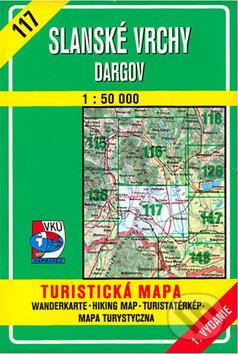 Slanské vrchy - Dargov 1:50 000 - Kolektív autorov