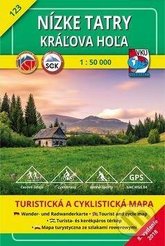 Nízke Tatry - Kráľova hoľa - turistická mapa č. 123 - Kolektív autorov