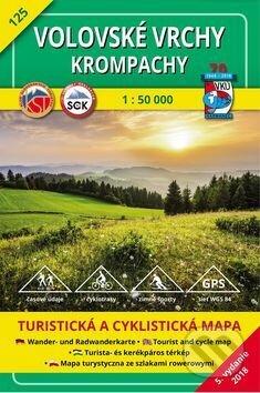 Volovské vrchy - Krompachy - turistická mapa č. 125 - Kolektív autorov