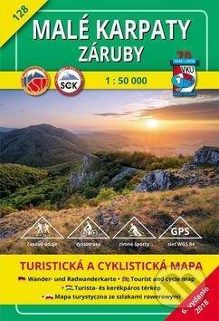 Malé Karpaty - Záruby - turistická mapa č. 128 - Kolektív autorov