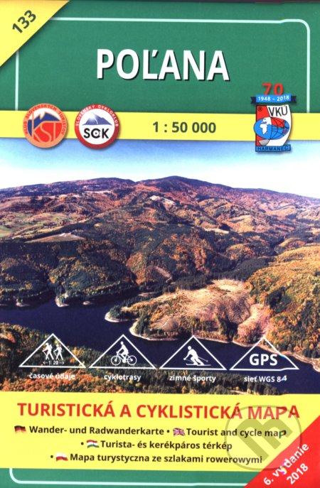 Poľana - turistická mapa č. 133 - Kolektív autorov