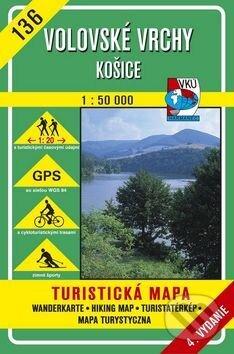 Volovské vrchy - Košice - turistická mapa č. 136 - Kolektív autorov
