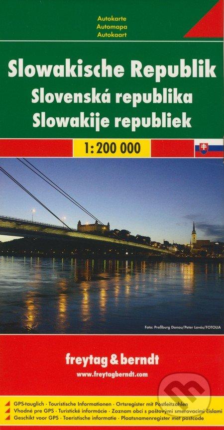Slovenská republika 1:200 000 -