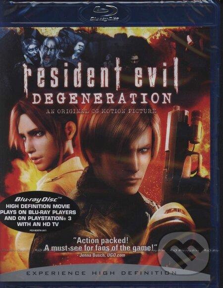 Resident Evil: Rozklad BLU-RAY