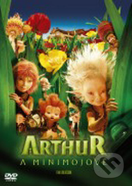 Arthur a Minimojové DVD