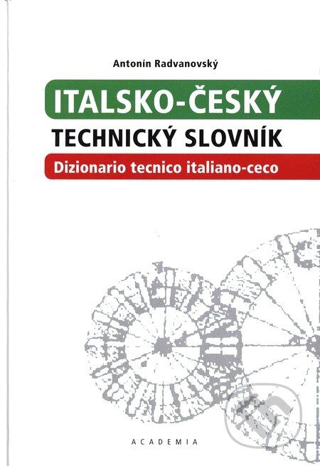 Italsko-český technický slovník - Antonín Radvanovský