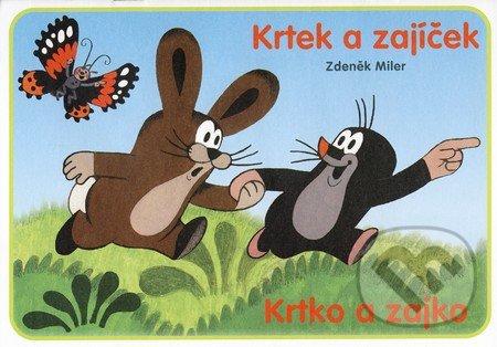Krtek a zajíček (vymaľovánka) - Zdeněk Miler