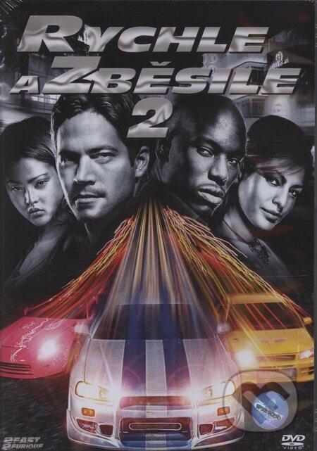 Rýchlo a zbesilo 2 DVD