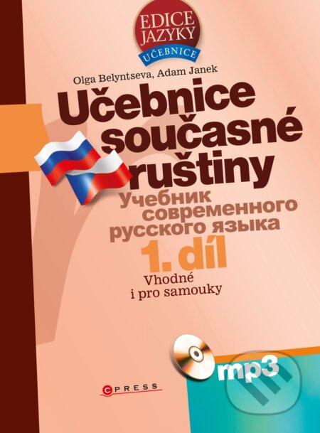 Učebnice současné ruštiny + MP3 - Olga Belyntseva, Adam Janek