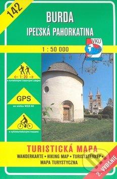 Burda - Ipeľská pahorkatina - turistická mapa č. 142 - Kolektív autorov