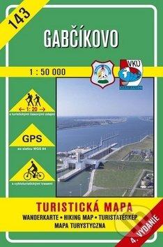 Gabčíkovo 1:50 000 - turistická mapa č. 143 - Kolektív autorov