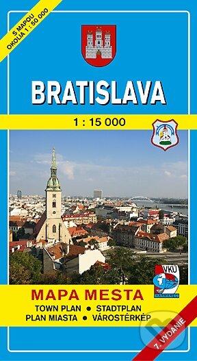 Bratislava 1:15 000 (mäkká obálka) - Kolektív autorov