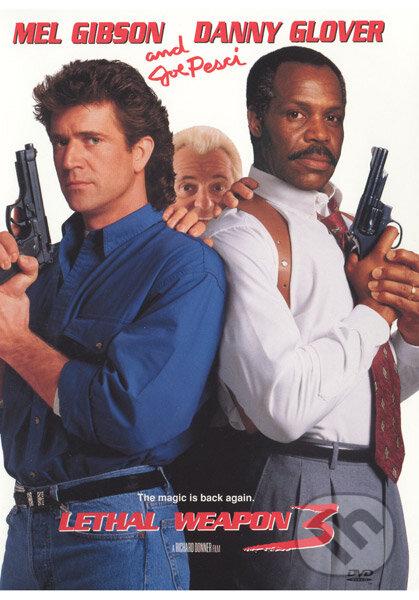 Smrtonosná zbraň 3 DVD