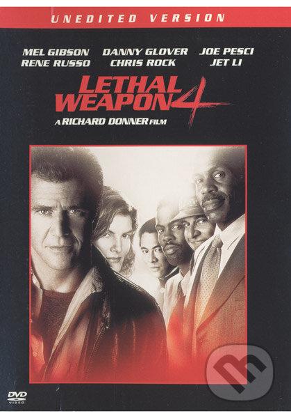 Smrtonosná zbraň 4 DVD