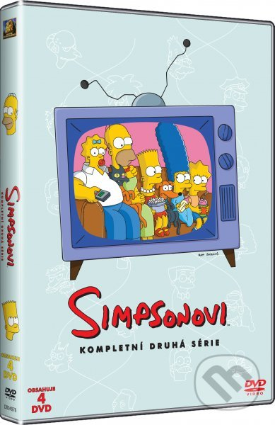 Simpsonovci - 2. séria (seriál) DVD