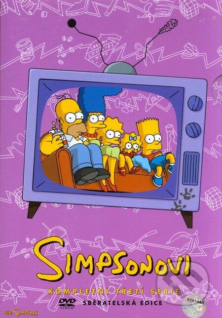 Simpsonovci - 3. séria (seriál) DVD
