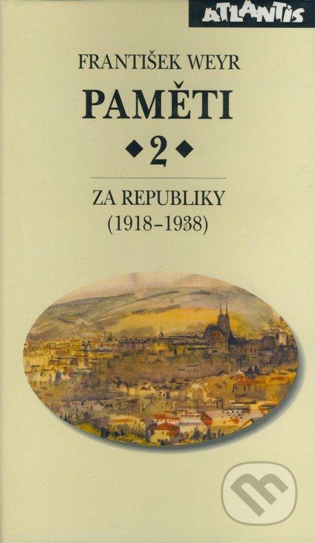 Paměti 2 - František Weyr