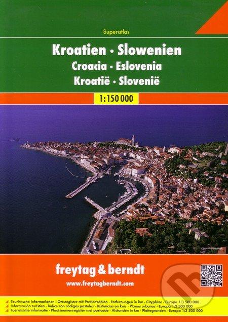 Kroatien, Slowenien 1:150 000 -