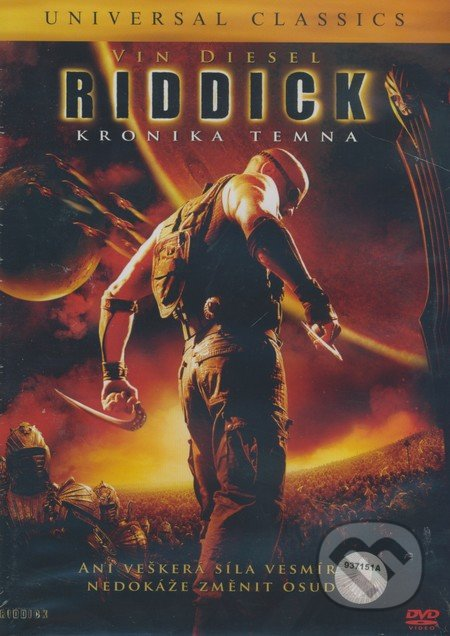 Riddick: Kronika temna DVD