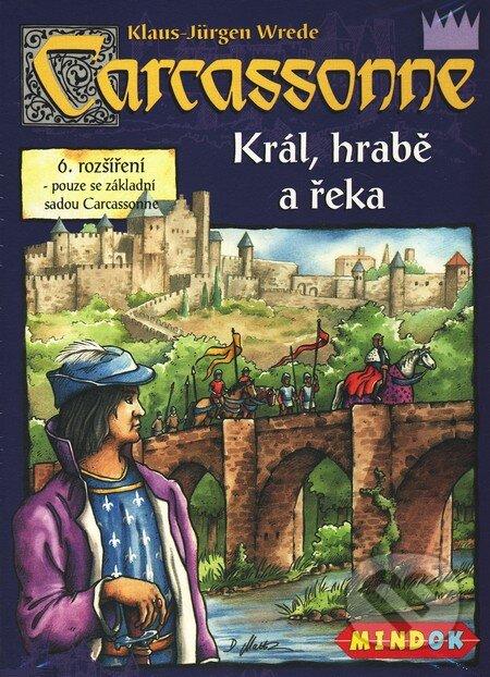 Carcassonne - Král, hrabě a řeka (6. rozšíření) -