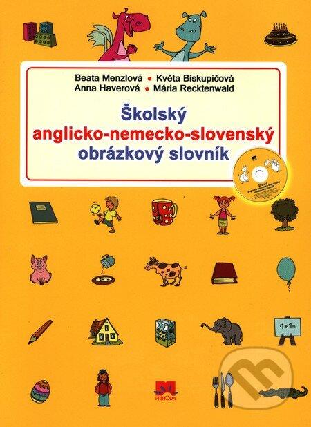 Školský anglicko-nemecko-slovenský obrázkový slovník -