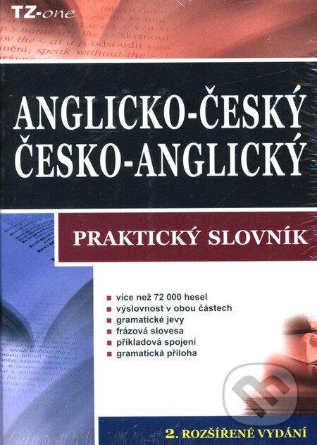 Anglický multioborový slovník + Anglicko-český/česko-anglický praktický slovník -