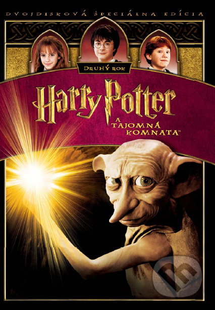 Harry Potter a Tajomná komnata (2DVD) DVD