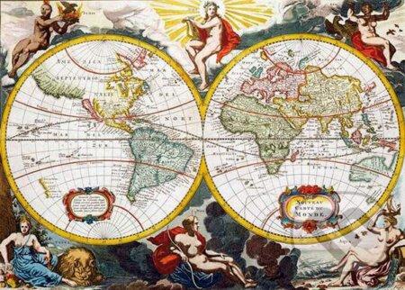 Antická mapa -