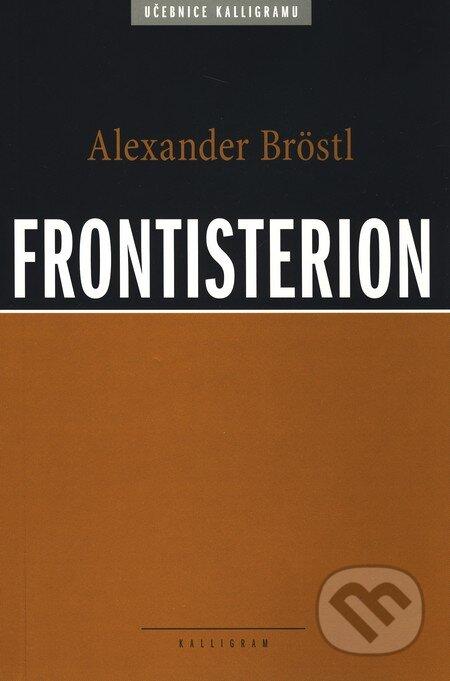 Kalligram Frontisterion - Alexander Bröstl