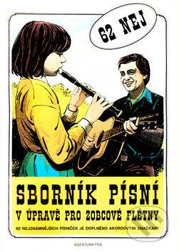 Sborník písní v úpravě pro zobcové flétny - Jiří Lukšů