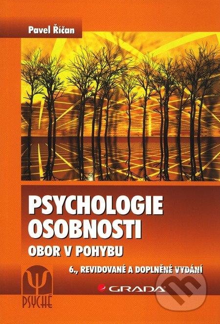 Psychologie osobnosti - Pavel Říčan